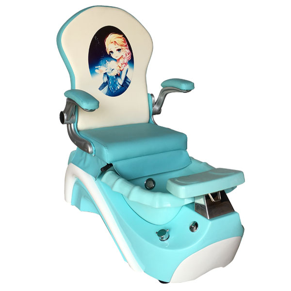 Cool Elsa Anna Kid Pedicure Chair Blue Creativecarmelina Interior Chair Design Creativecarmelinacom